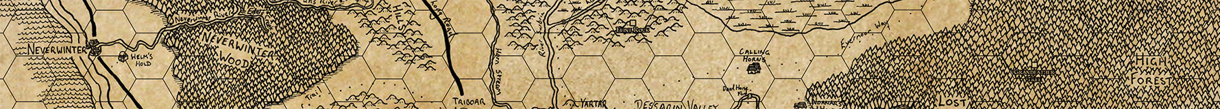 Map of Faerûn