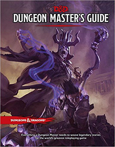 D&D Dungeon Master's Guide by Wizards of the Coast