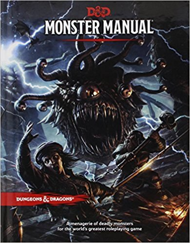 D&D Monster Manual by Wizards of the Coast